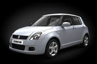 3d car suzuki swift mk6 model