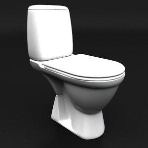 3ds max lavatory seat