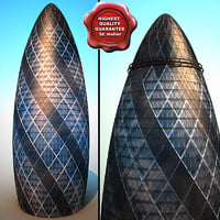 3d 3ds 30 st mary axe