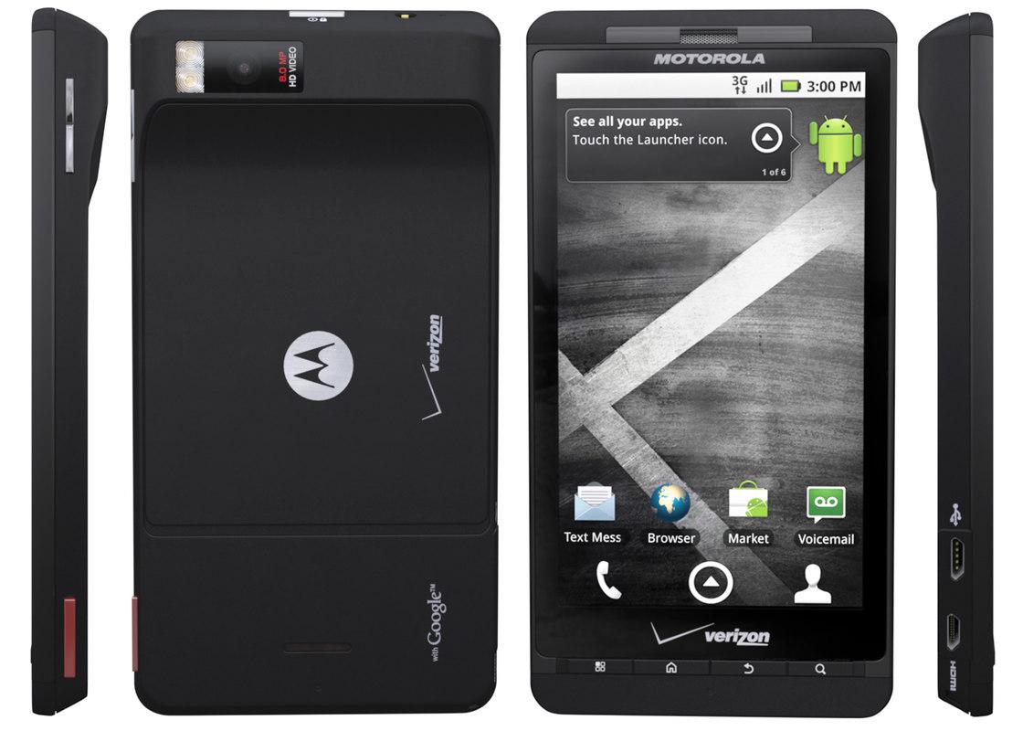 modelo 3d Droid X de Motorola - TurboSquid 596694