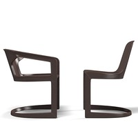 Minotti Twombly dining chair armchair modern contemporary
