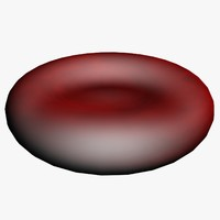 3d model blood cell