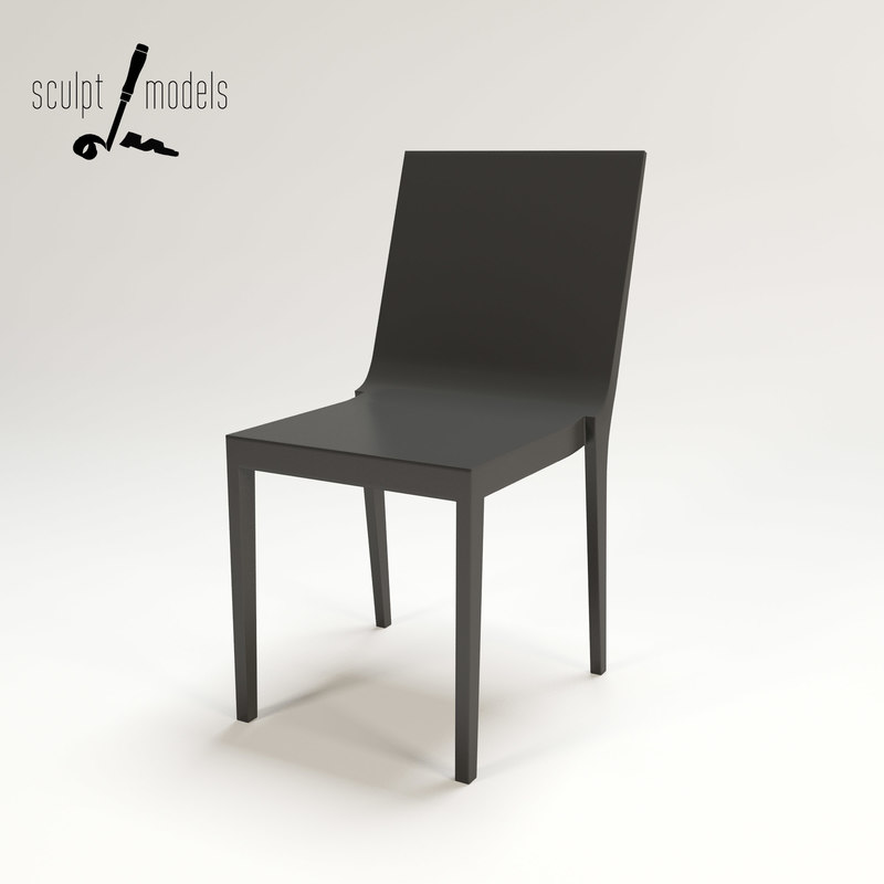 moka chair 3d model
