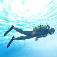 maya skin diver