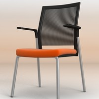 3d meeting office chair model