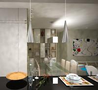 interiors 3d model