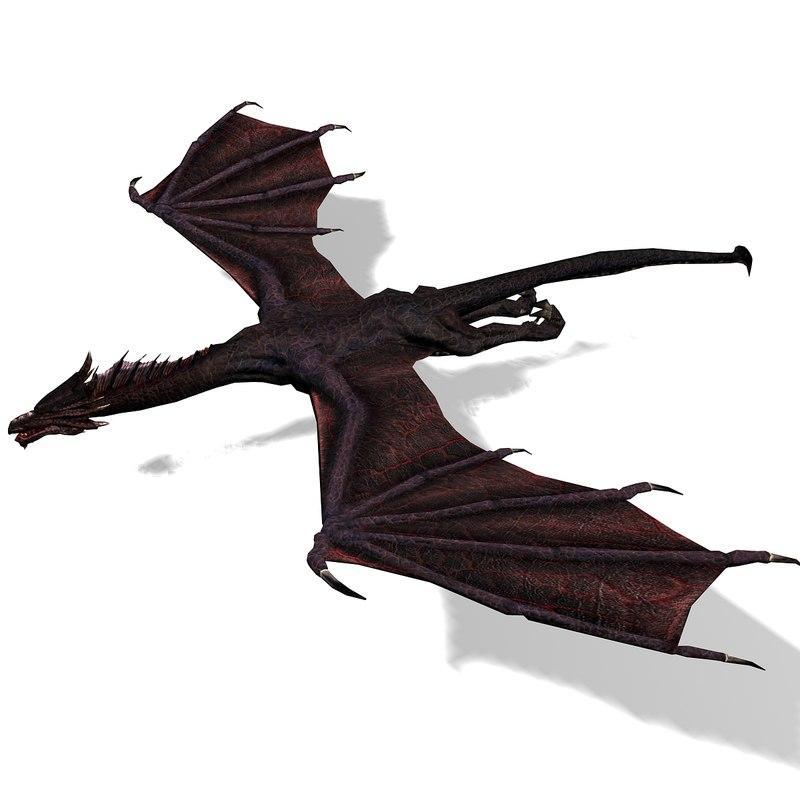 black dragon 3d max