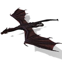 black dragon 3d max
