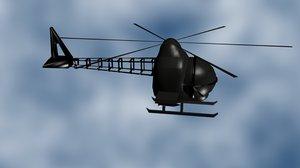 free heli 3d model