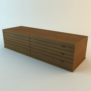 cabinet details 3d model