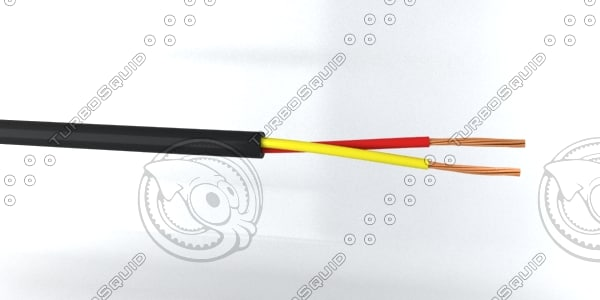 2 core cable 3ds
