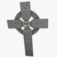 3d model unique cross