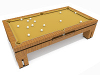 Tresserra Bolero pool table
