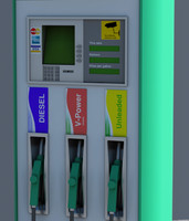 3d fuel dispenser