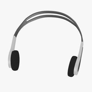 headphones head 3d model
