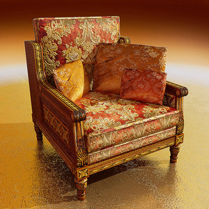 3dsmax home chair
