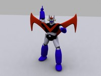 mazinger great 3d max