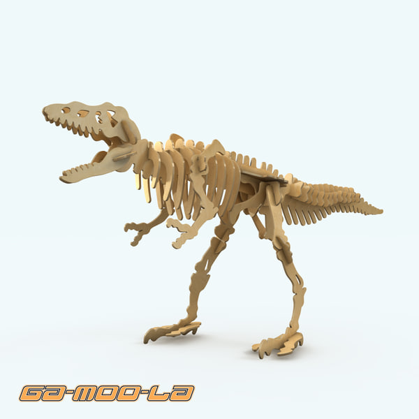 dinosaur childrens puzzle 3d max