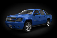 car chevrolet avalanche 3d max