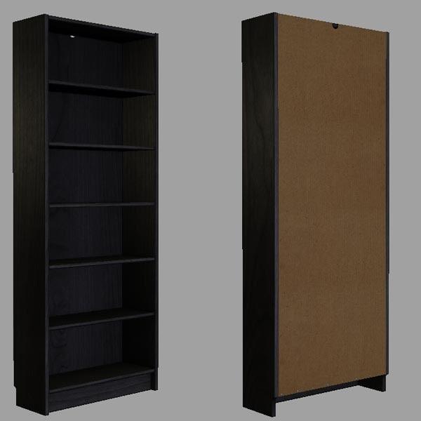 maya bookcase book