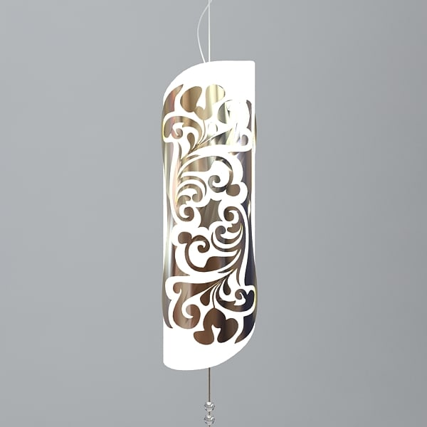 3dsmax contemporary chandelier