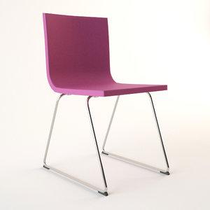 3d model chair ikea