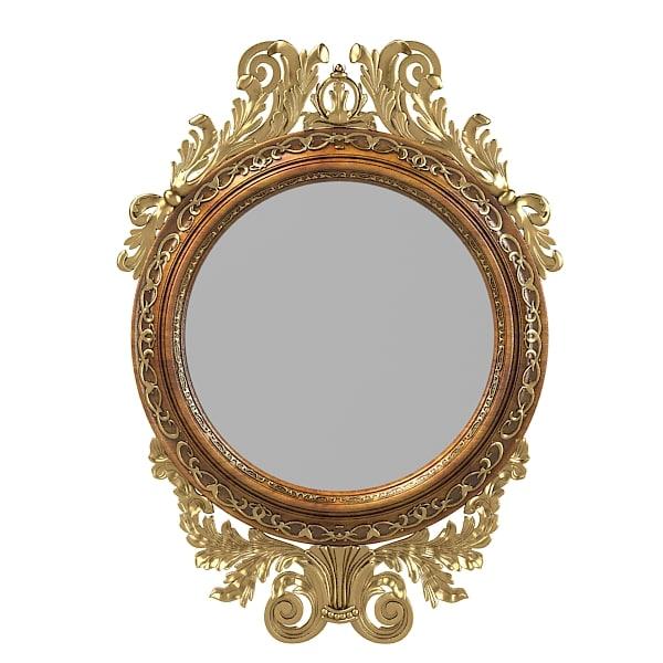 Max girandole classic mirror for Classic mirror