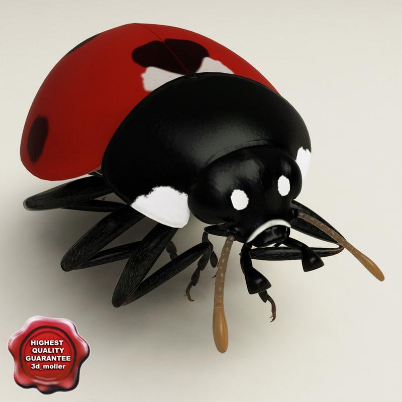 ladybug pose6 3d max