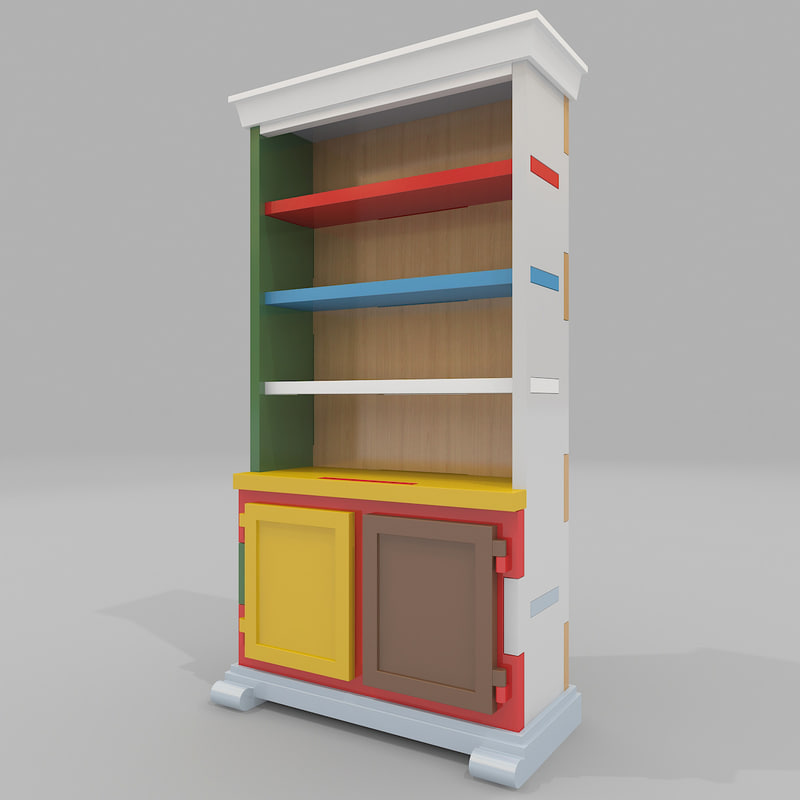 3d cabinet moooi paper