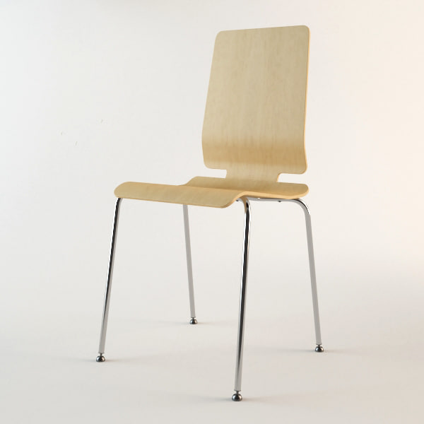 chair ikea 3d max
