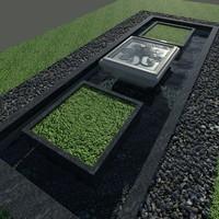 Garden - Fountain