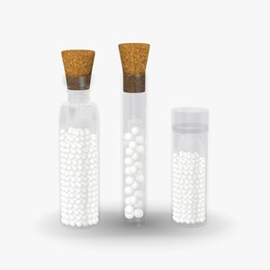 3d max homeopathics set