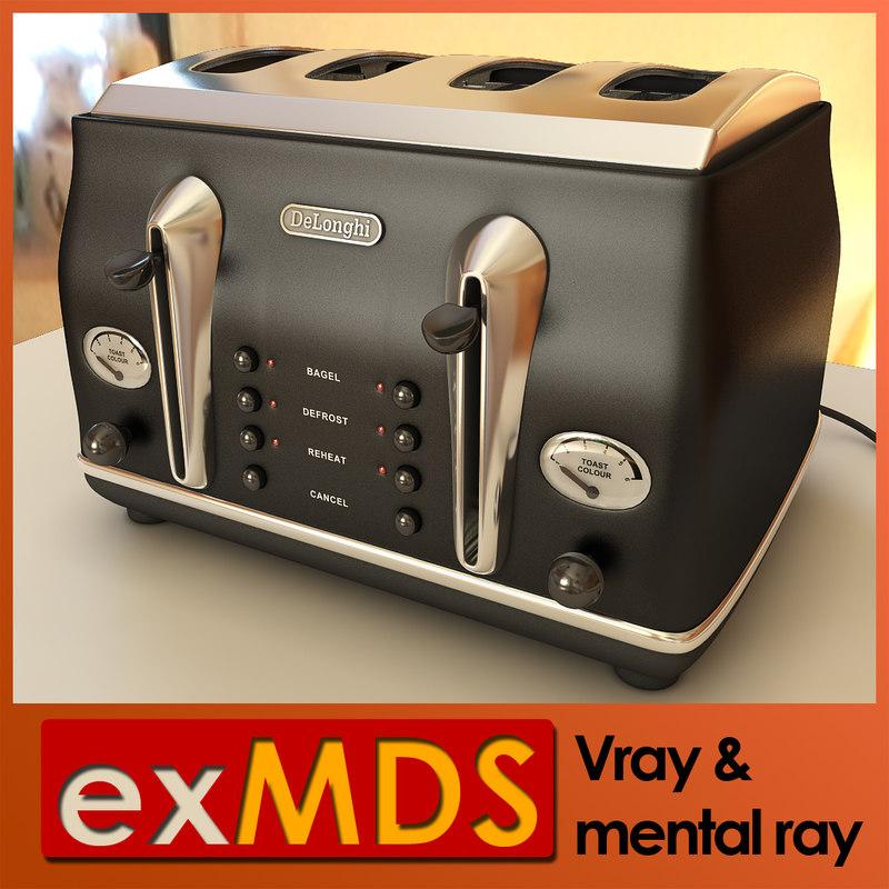 3d model v-ray toaster