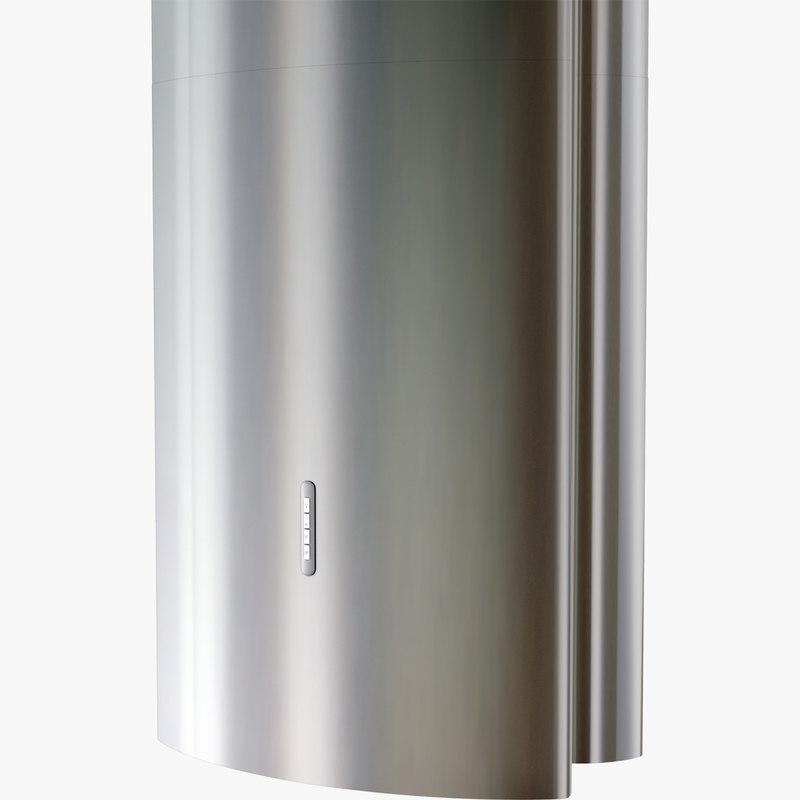 extractor hoods cooker 3d model