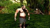 fantasy creature minotaur obj