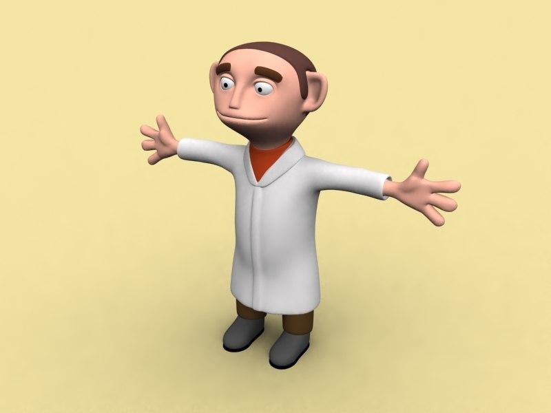 3d model cool doctor