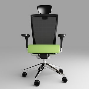 3d model techo sidiz chair