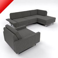 3d conseta modular sofa set