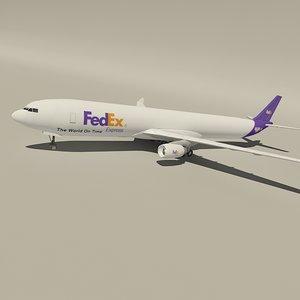 3d airbus fedex cargo