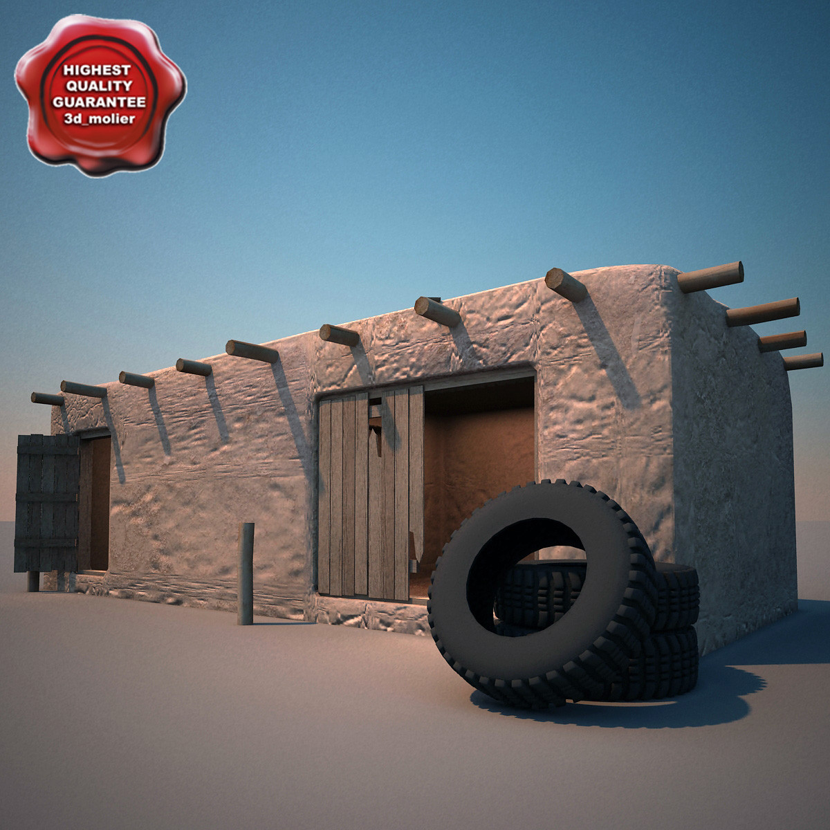 afghanistan house v10 3d max