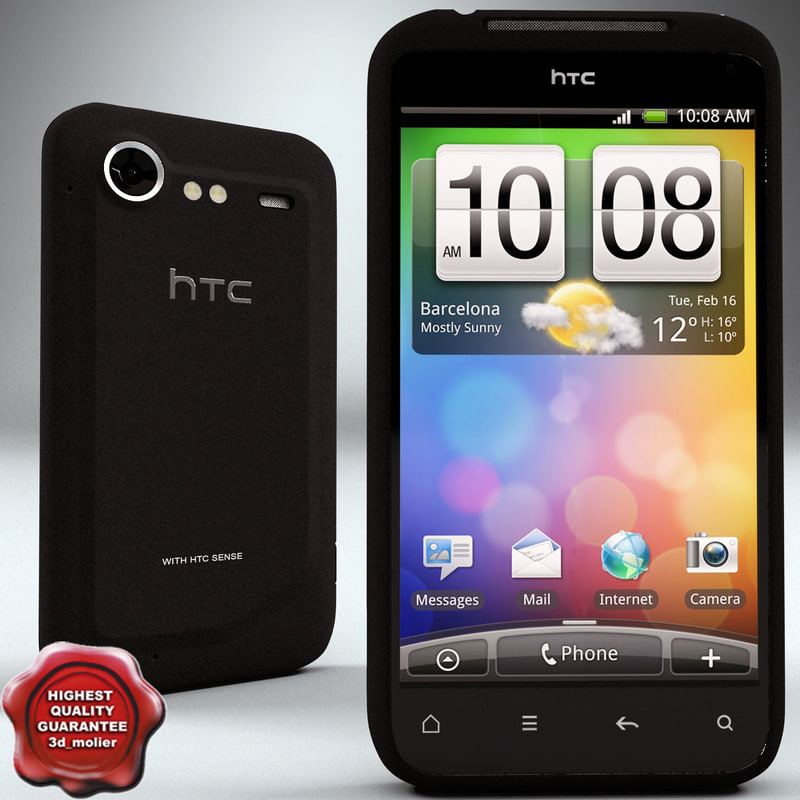 htc incredible s 3d 3ds