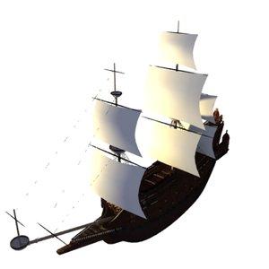 galleon-la couronne max