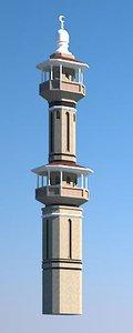 3d minaret