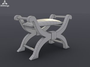 maya regency bone stool