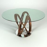 3d model porada infinity table