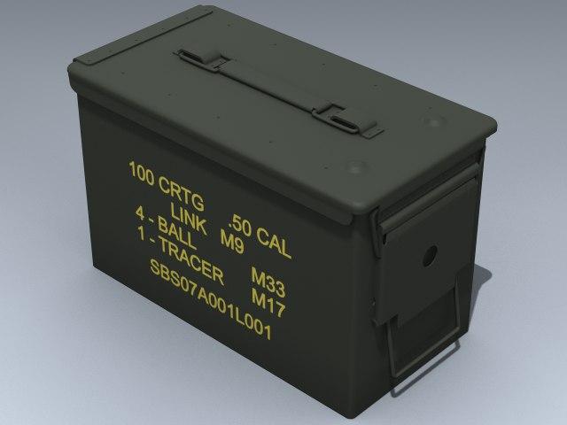 army ammunition 3d model