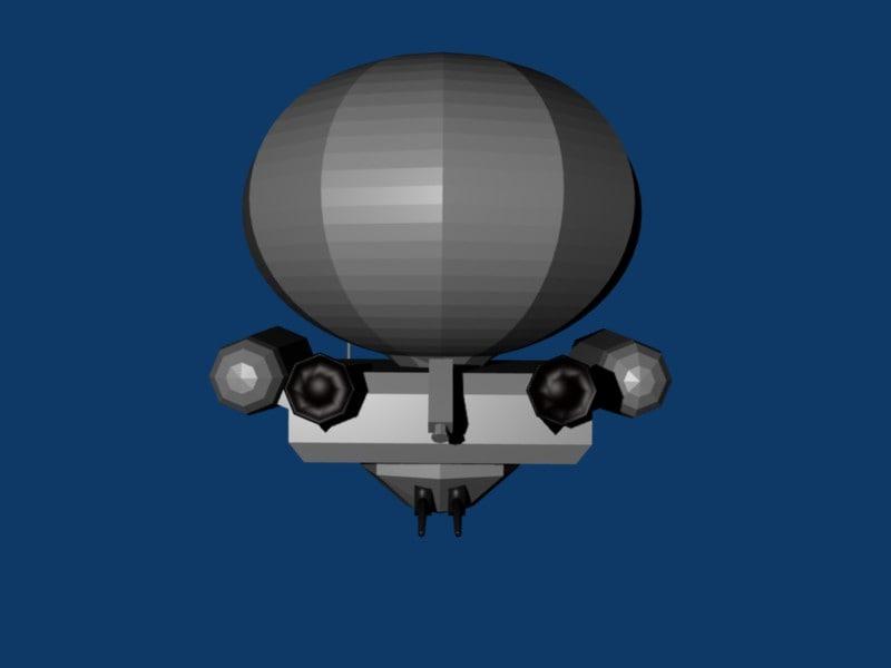 blend tank ballon