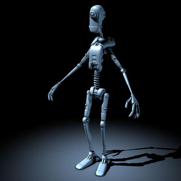 3d model droid