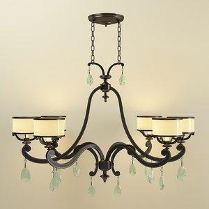 corbett lighting roma 86-56 3d model