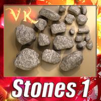 3ds max stones 01 resolution